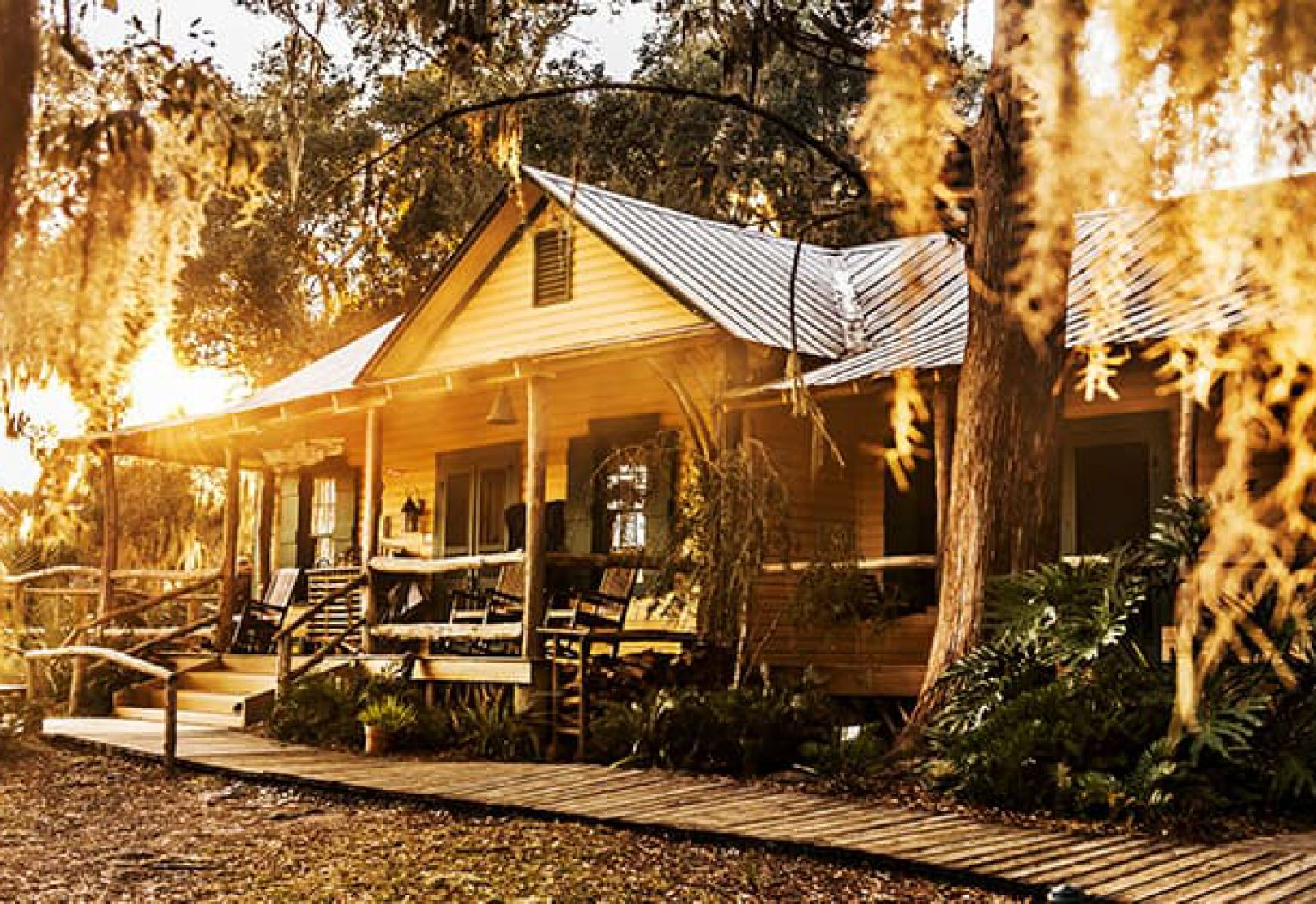 The lodge at Little St Simons Island in Georgias Golden Isles